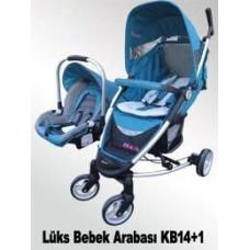 KB14+1 Oto Koltuklu Bebek Arabası Toptan Satış