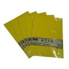 Fosforlu Kuşe Elişi Kağıdı 20'li 4 Renk, Toptan Elişi Kağıdı Koli Adeti 200 Poşet