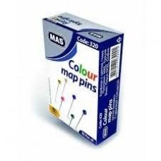 Mas Renkli Toplu İğne 32 mm, Toplu İğne Toptan Satış
