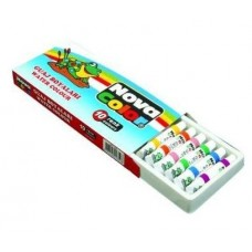 Nova Color 10 Renk Tüp Guaj Boya, Tüp Guaj Boya Kutuda 12 Adet Toptan Satış