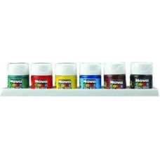 Nova Color 6 Renk Şişe Guaj Boya, Şişe Guaj Boya Kutuda 12 Adet Toptan Satış