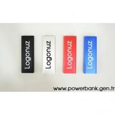 Metal Kasa 3000 mAh Promosyon Powerbank Toptan