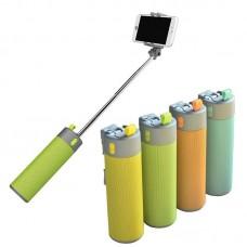Powerbank + Selfie çubuğu + blutoot hoperlör