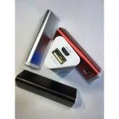Toptan 2600 mAh metal kasa powerbank